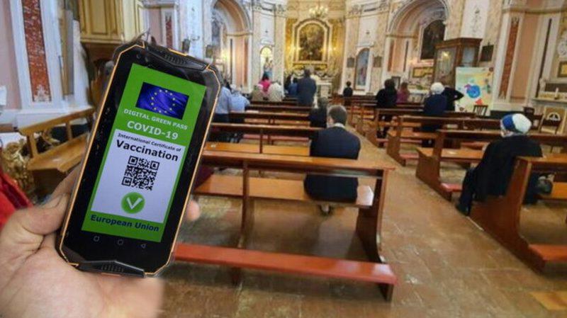 """""""Green Pass"""" e celebrazioni liturgiche"""